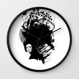 Beautiful Hair III Wall Clock