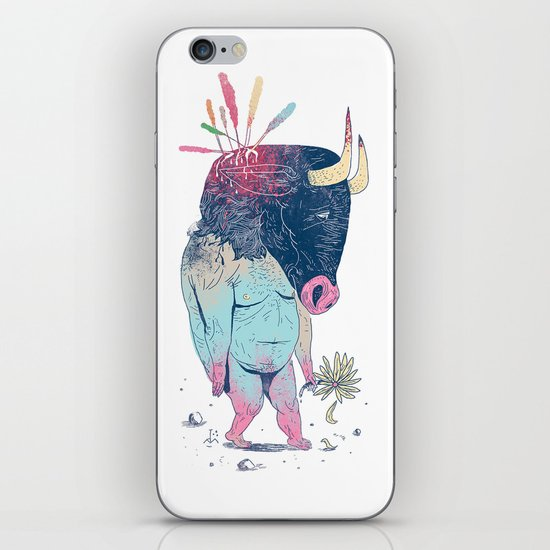 Mr.Minotaur iPhone & iPod Skin