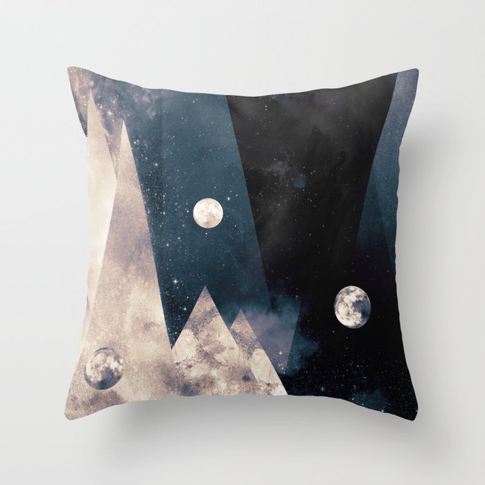 Escape, from planet earth Throw Pillow