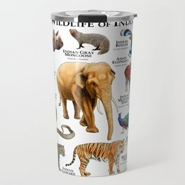 Wildlife of India Travel Mug