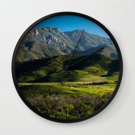 Boney Mountain,CA. Wall Clock