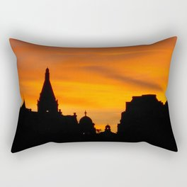 London Sunset in sillouette bywhacky Rectangular Pillow