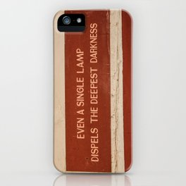 Gandhi Quote iPhone Case