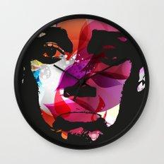 Sad Woman Wall Clock