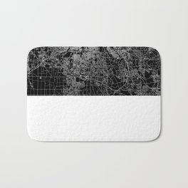 Cleveland map Ohio Bath Mat