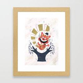 Cheshire Cat - Alice in Wonderland Framed Art Print