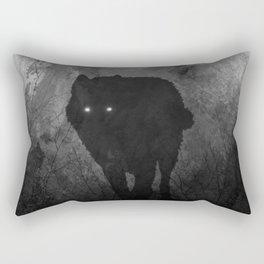 Wolf Mountain Rectangular Pillow