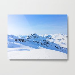 144. March Holidays, France Metal Print