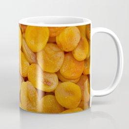 Dried cut apricot fruits Coffee Mug