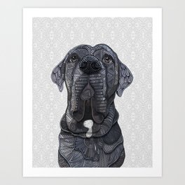 Chief the Mastiff Art Print