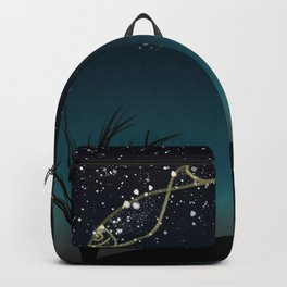 Fish constellation Backpack