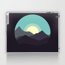 Minimal Mountain Night Laptop & iPad Skin