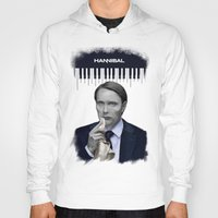hannibal Hoodies featuring Hannibal by firatbilal