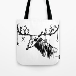 Wendigo by zombiecraig. Tote Bag