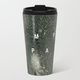 Abstract Empty Space Travel Mug