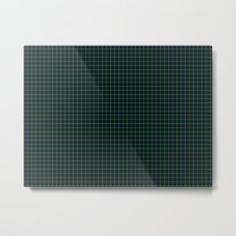 Sutherland Tartan Metal Print