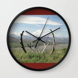 Mt. Denali Wall Clock