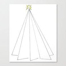 Paper Tree Canvas Print