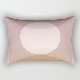 Bauhaus Moon Rectangular Pillow