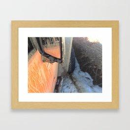 Tough Mudder Framed Art Print