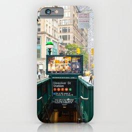 Bleecker Street iPhone Case