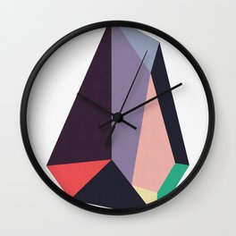 Geometric stone II Wall Clock