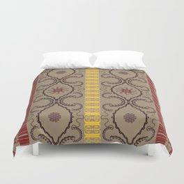 Alphabetical Antiquity Duvet Cover
