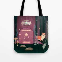 Sorcerer Of Woodland Charms Potions Spells And Fortunes Tote Bag
