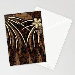 Vintage Samoan Tribal Tapa Art Board Stationery Cards