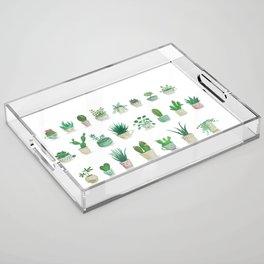 Tiny garden Acrylic Tray