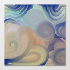 A Touch of Blue Canvas Print