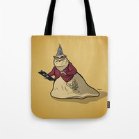 monsters inc Tote Bags featuring Monsters, Inc. | Roz by Brave Tiger Designs