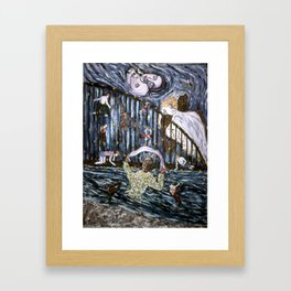 Salutations Framed Art Print