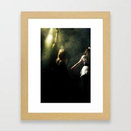 On the dancefloor Framed Art Print