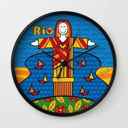 Cristo Rio Wall Clock