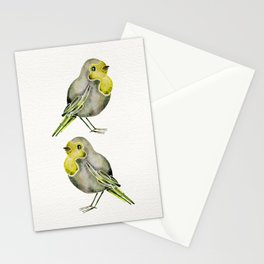 Little Yellow Birds Stationery Cards