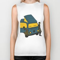 van Biker Tanks featuring Van by AndaLouz