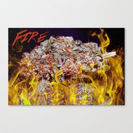 That Fire! Canvas Print