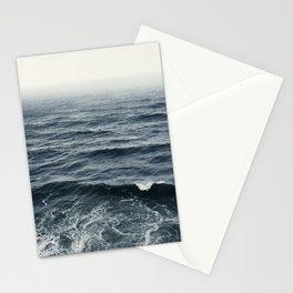 Oregon Coast.Ocean.Storm.Wave.Water.Sea Stationery Cards