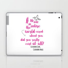 Do you exist at all? | Infernal Devices Laptop & iPad Skin