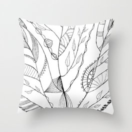 Amazing Leaves Throw Pillow