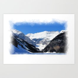 Lake Louise in Banff National Park Art Print