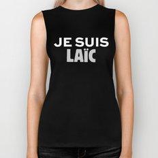 Je Suis Laïc Biker Tank