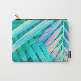 Palms Green Pink Carry-All Pouch