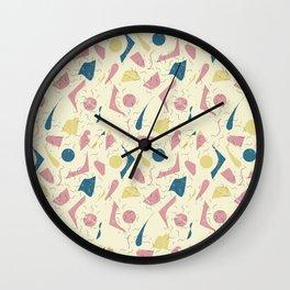 """""""Wandered"""" Wall Clock"""