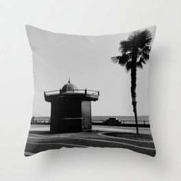 URBAN LANDSCAPE IN SALERNO, ITALY. Throw Pillow