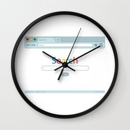 Search Engine Wall Clock