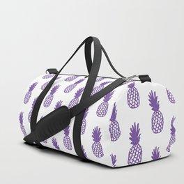 Purple Pineapple Duffle Bag