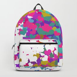 Heart leaf colorful Backpack