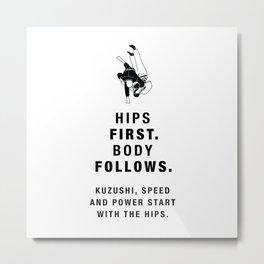 Martial Arts Quotes - Judo Metal Print